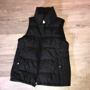 puffy vest from old navy